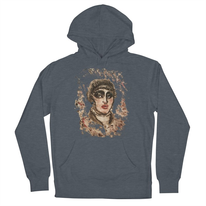 The Widow St. Claire Men's French Terry Pullover Hoody by dasiavou's Artist Shop