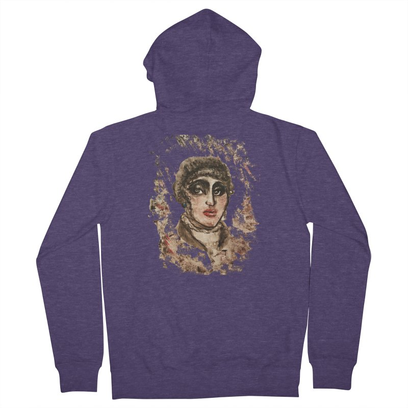The Widow St. Claire Men's French Terry Zip-Up Hoody by dasiavou's Artist Shop