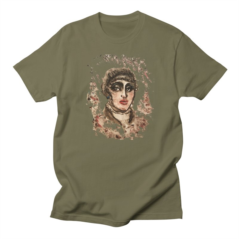 The Widow St. Claire Men's Regular T-Shirt by dasiavou's Artist Shop