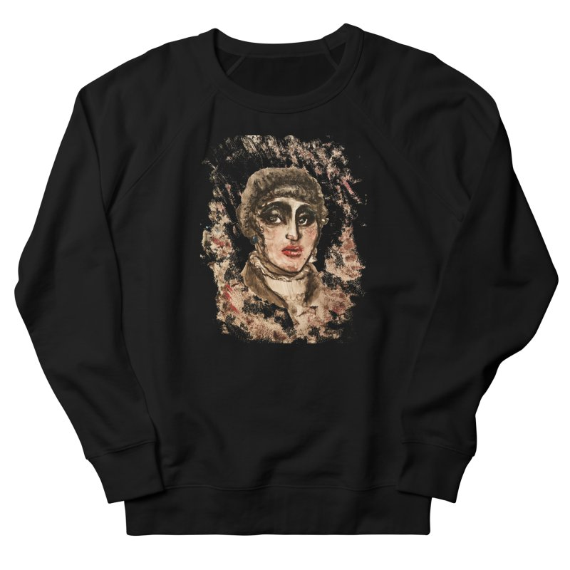 The Widow St. Claire Women's French Terry Sweatshirt by dasiavou's Artist Shop