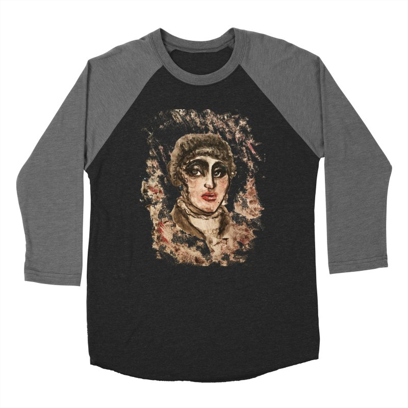 The Widow St. Claire Women's Baseball Triblend Longsleeve T-Shirt by dasiavou's Artist Shop