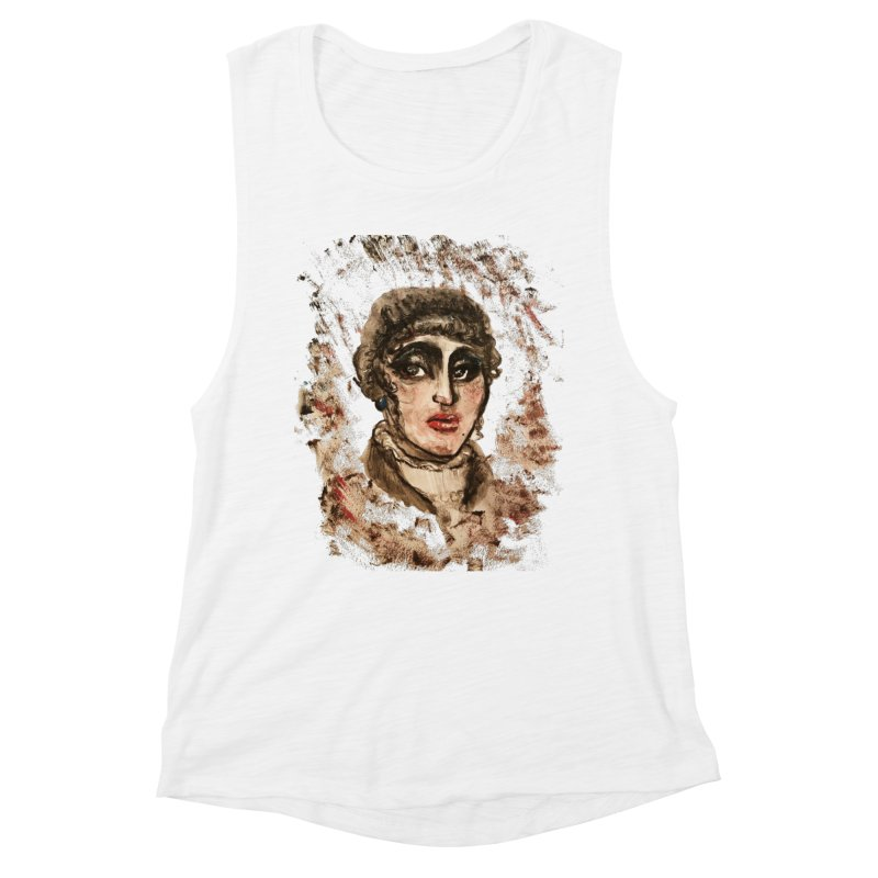 The Widow St. Claire Women's Muscle Tank by dasiavou's Artist Shop