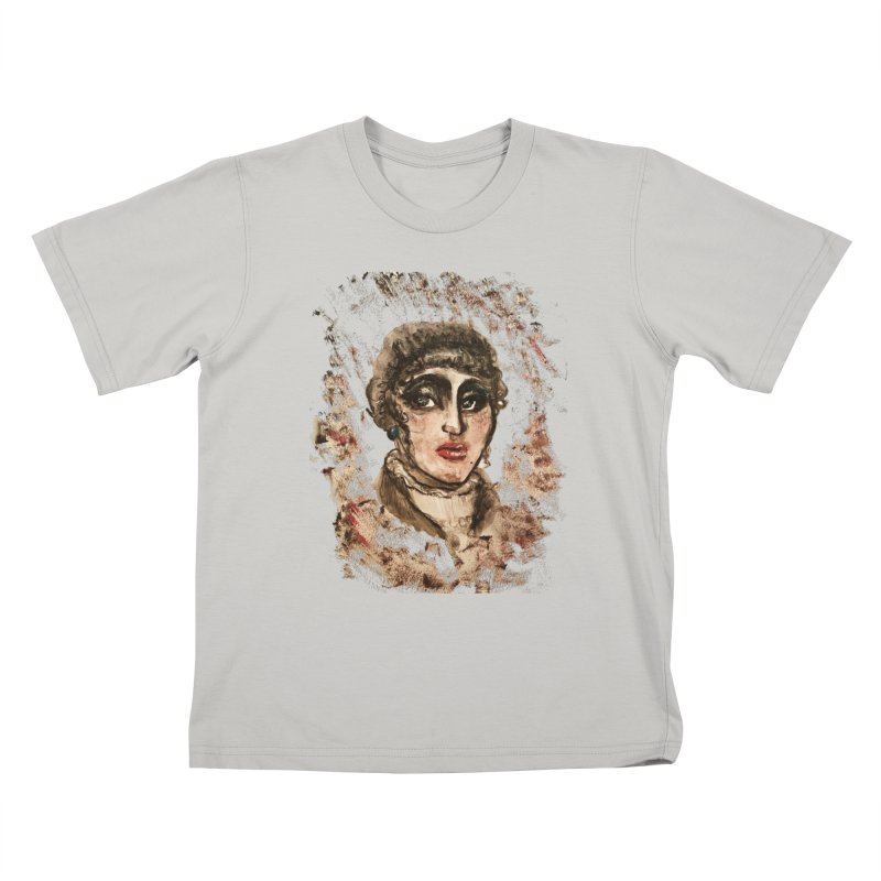 The Widow St. Claire Kids T-Shirt by dasiavou's Artist Shop