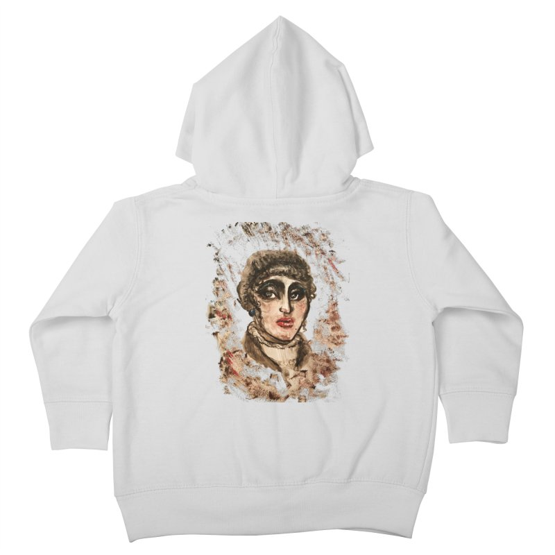 The Widow St. Claire Kids Toddler Zip-Up Hoody by dasiavou's Artist Shop