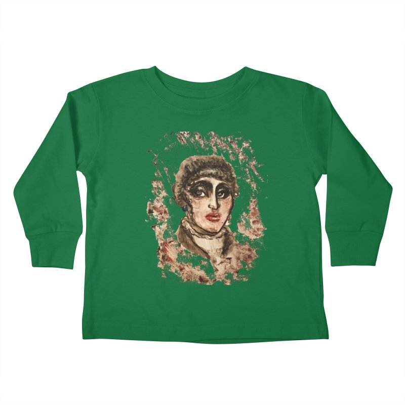 The Widow St. Claire Kids Toddler Longsleeve T-Shirt by dasiavou's Artist Shop