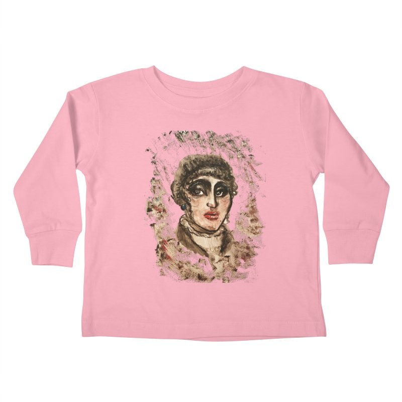 The Widow St. Claire Kids Toddler Longsleeve T-Shirt by dasiavou's Artist Shop