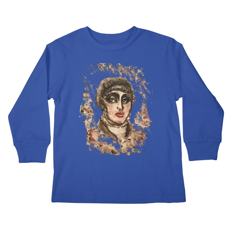 The Widow St. Claire Kids Longsleeve T-Shirt by dasiavou's Artist Shop