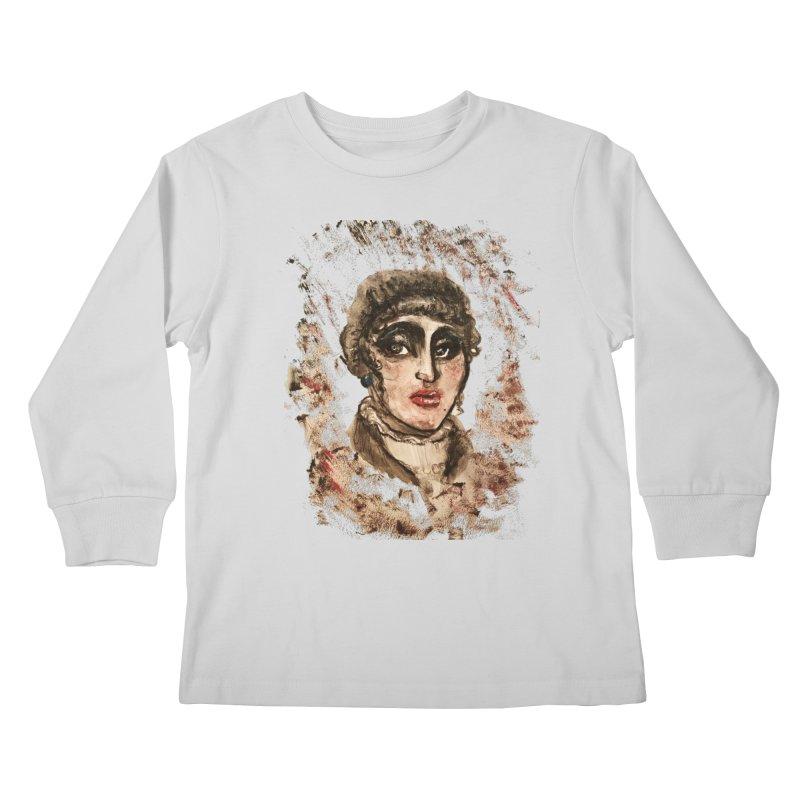The Widow St. Claire Kids Longsleeve T-Shirt by dasiavou's Artist Shop
