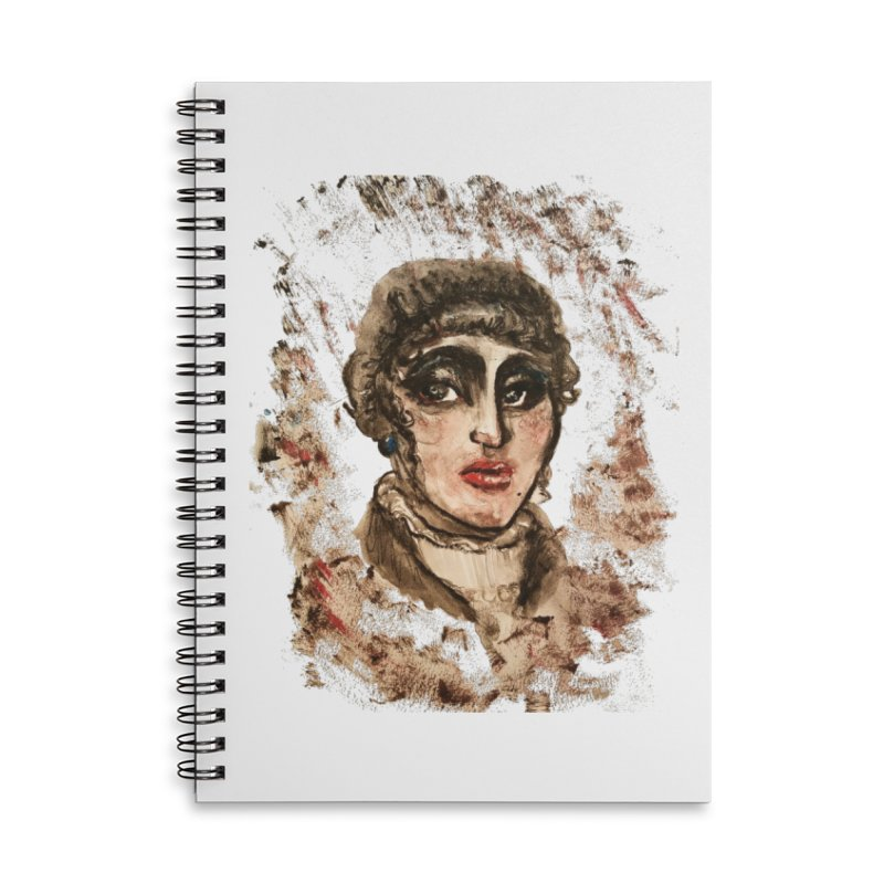 The Widow St. Claire Accessories Notebook by dasiavou's Artist Shop