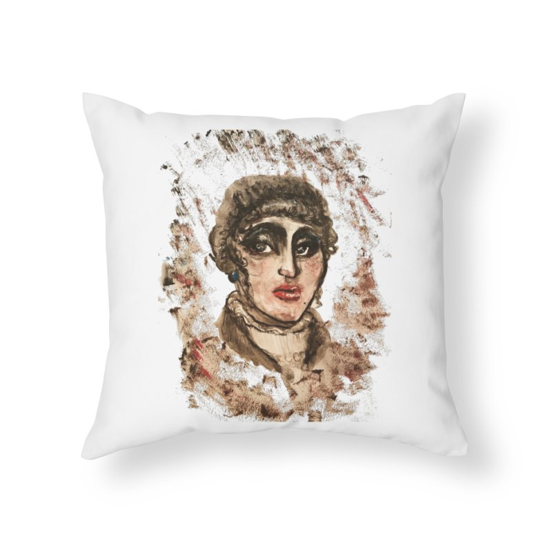 The Widow St. Claire Home Throw Pillow by dasiavou's Artist Shop