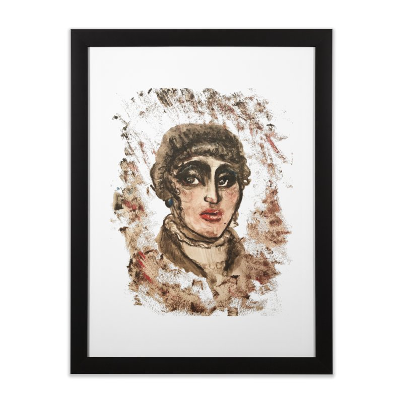 The Widow St. Claire Home Framed Fine Art Print by dasiavou's Artist Shop