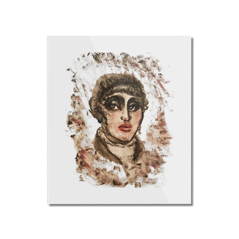 The Widow St. Claire Home Mounted Acrylic Print by dasiavou's Artist Shop
