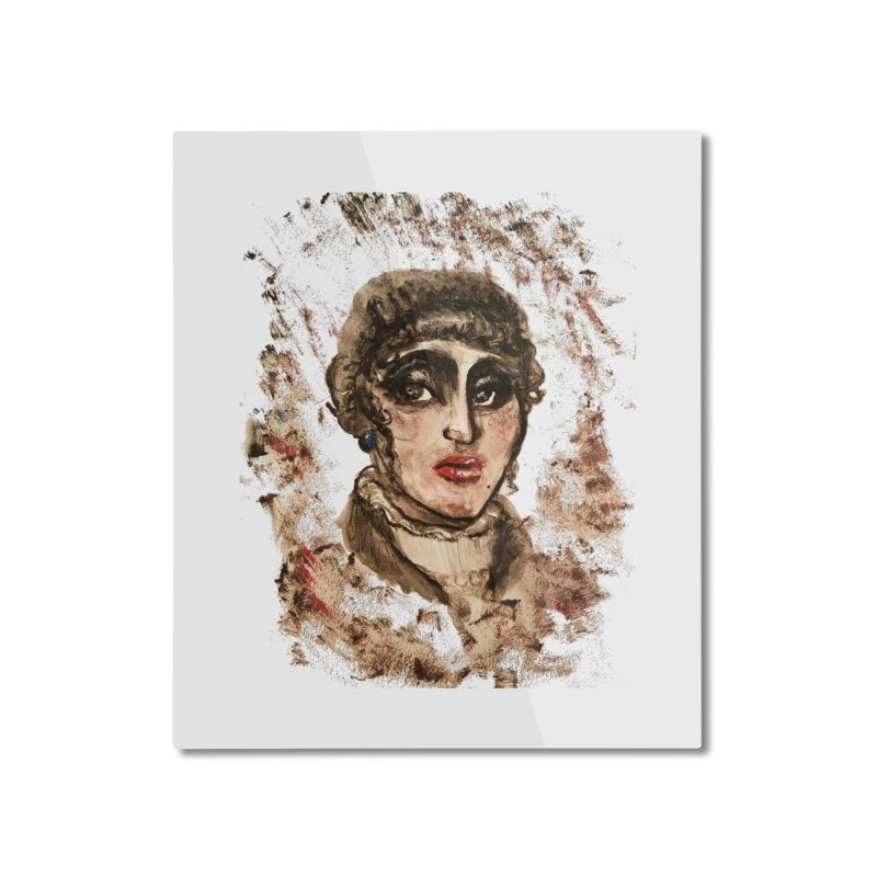 The Widow St. Claire Home Mounted Aluminum Print by dasiavou's Artist Shop