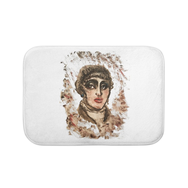 The Widow St. Claire Home Bath Mat by dasiavou's Artist Shop