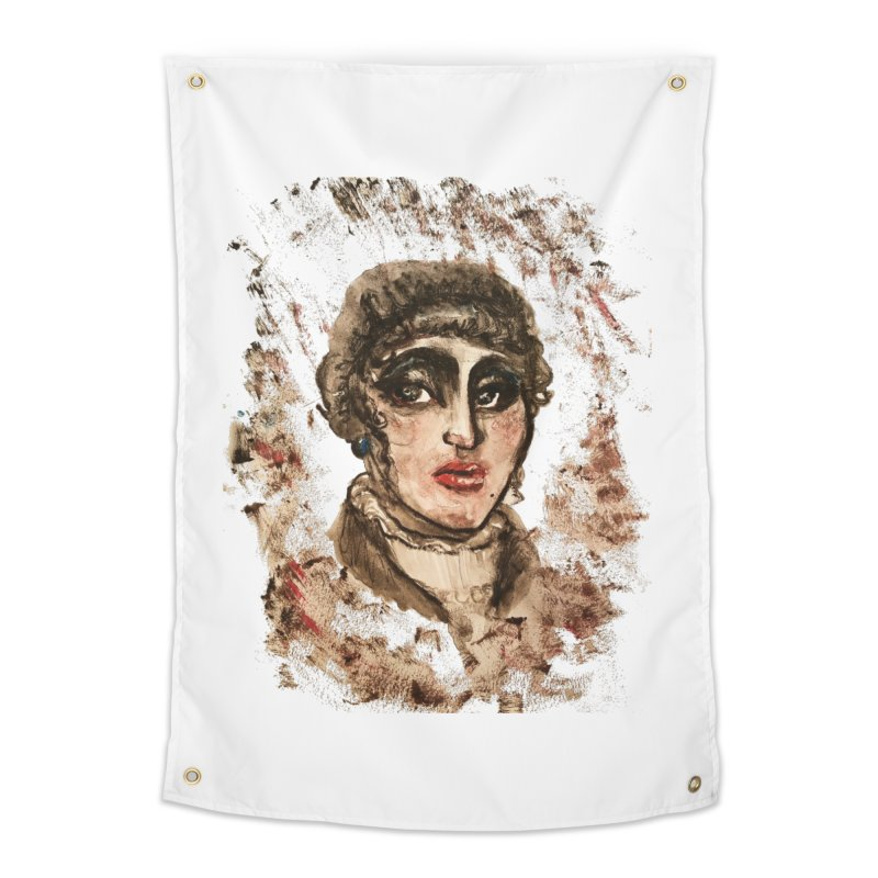 The Widow St. Claire Home Tapestry by dasiavou's Artist Shop