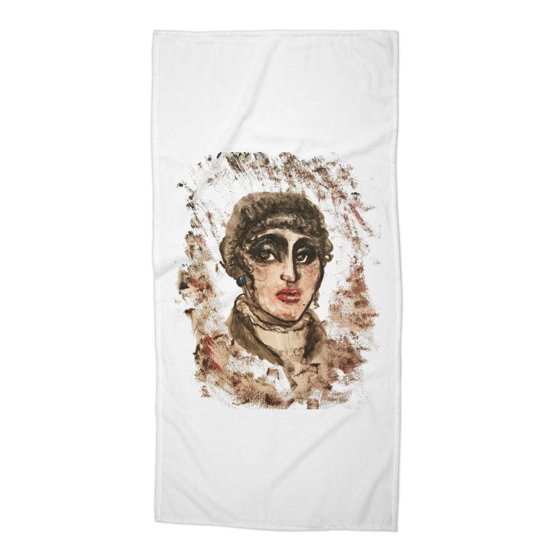The Widow St. Claire Accessories Beach Towel by dasiavou's Artist Shop