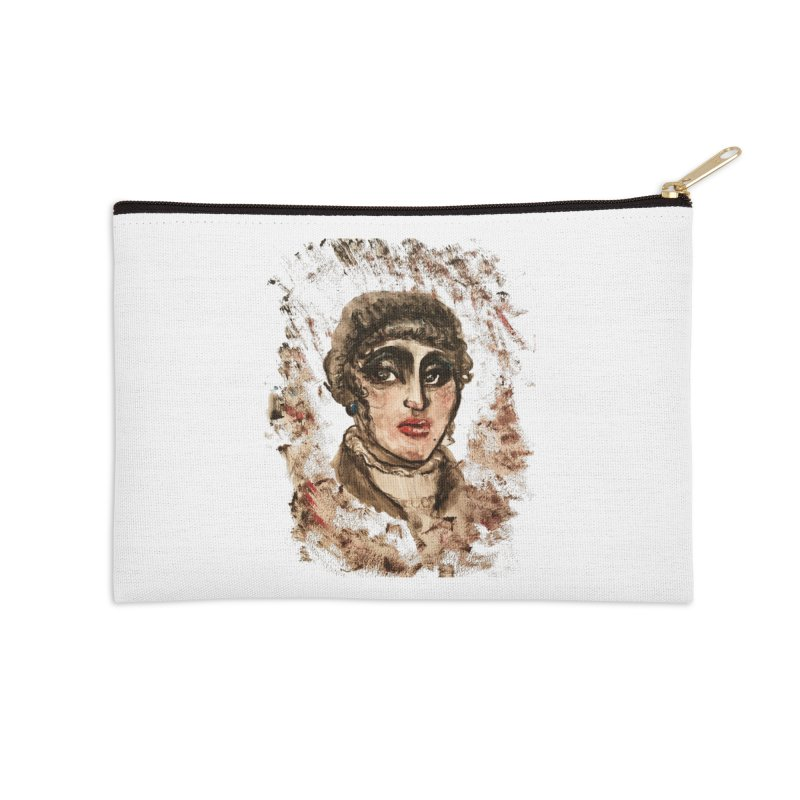 The Widow St. Claire Accessories Zip Pouch by dasiavou's Artist Shop