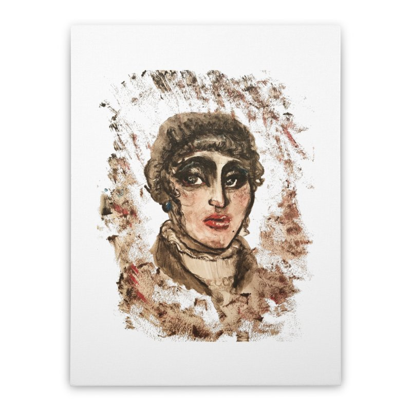 The Widow St. Claire Home Stretched Canvas by dasiavou's Artist Shop