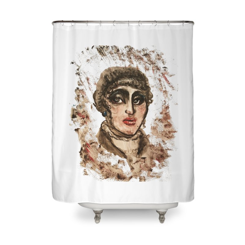 The Widow St. Claire Home Shower Curtain by dasiavou's Artist Shop