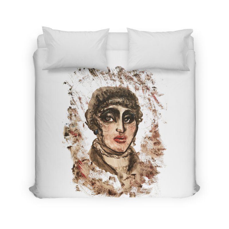 The Widow St. Claire Home Duvet by dasiavou's Artist Shop