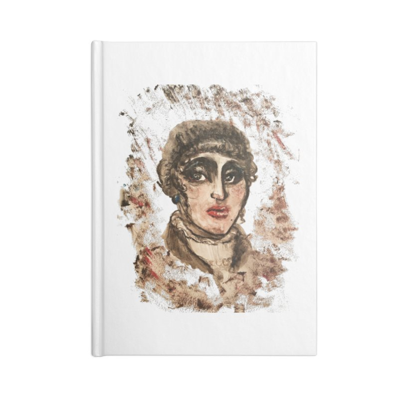 The Widow St. Claire Accessories Lined Journal Notebook by dasiavou's Artist Shop