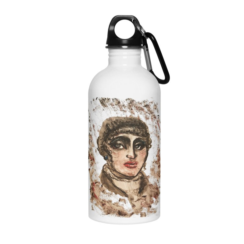 The Widow St. Claire Accessories Water Bottle by dasiavou's Artist Shop