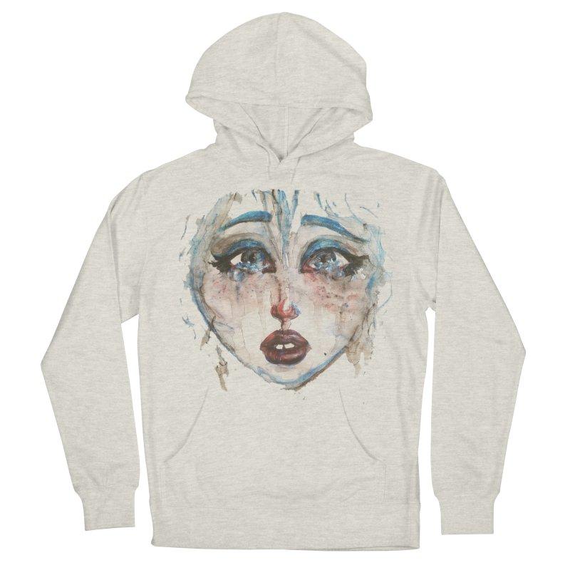 Bleu Women's Pullover Hoody by dasiavou's Artist Shop