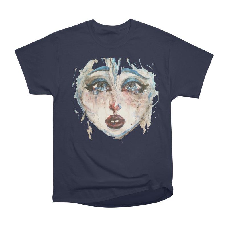Bleu Women's Heavyweight Unisex T-Shirt by dasiavou's Artist Shop