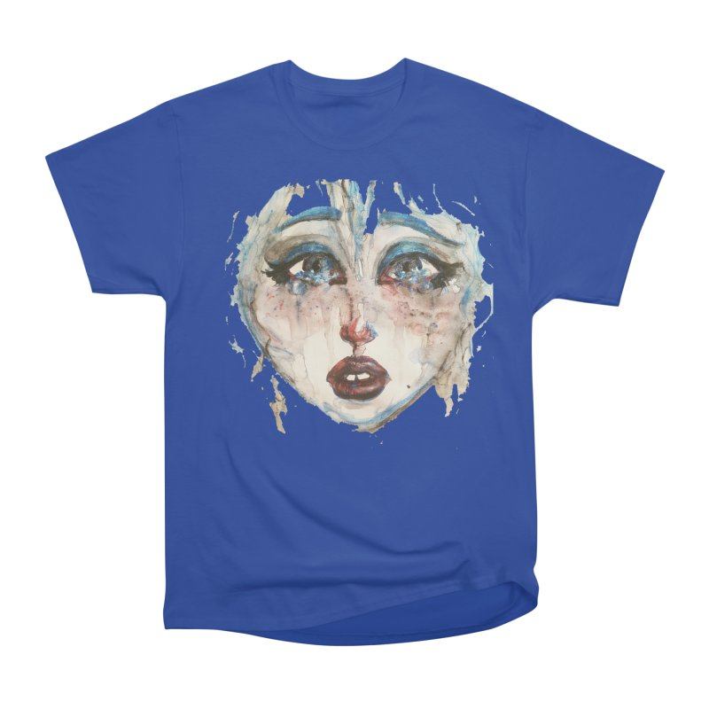 Bleu Women's Heavyweight Unisex T-Shirt by dasiavou's Artist Shop