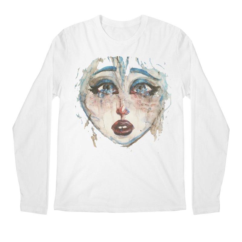 Bleu Men's Regular Longsleeve T-Shirt by dasiavou's Artist Shop