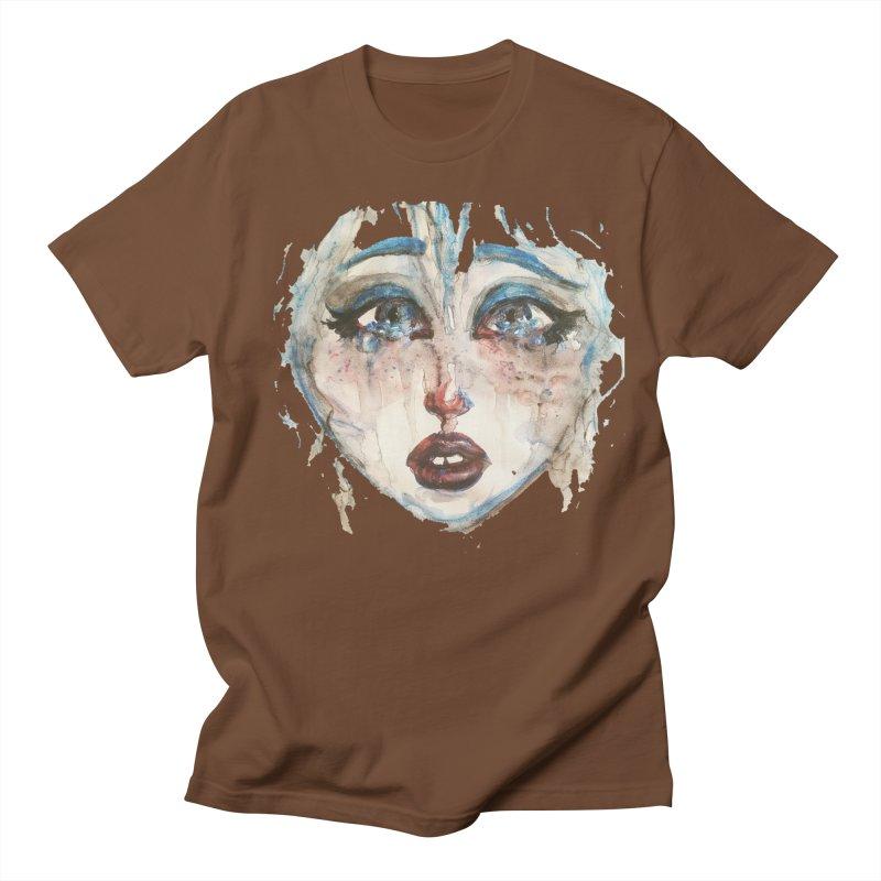 Bleu Women's Regular Unisex T-Shirt by dasiavou's Artist Shop
