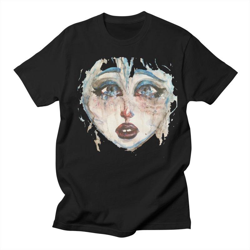 Bleu Men's Regular T-Shirt by dasiavou's Artist Shop