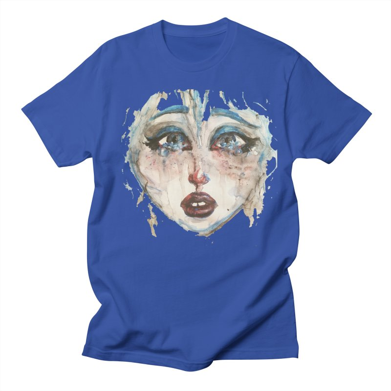Bleu Men's Regular T-Shirt by dasiavou's Artist Shop