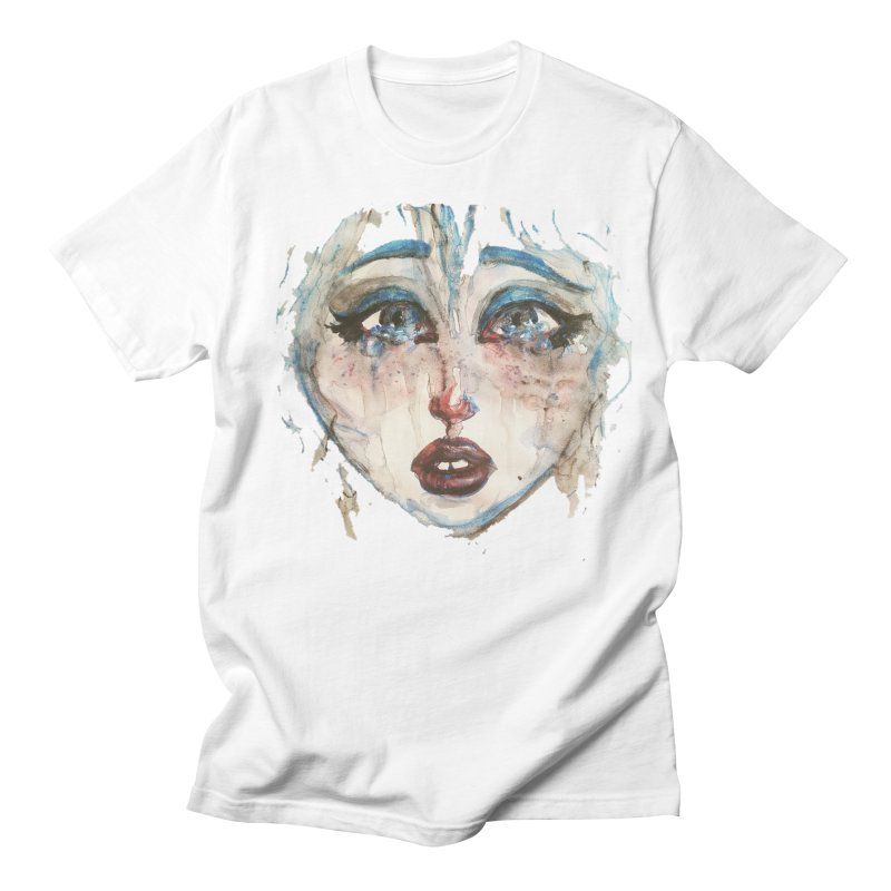 Bleu Women's Regular Unisex T-Shirt by dasiavou's Artist Shop