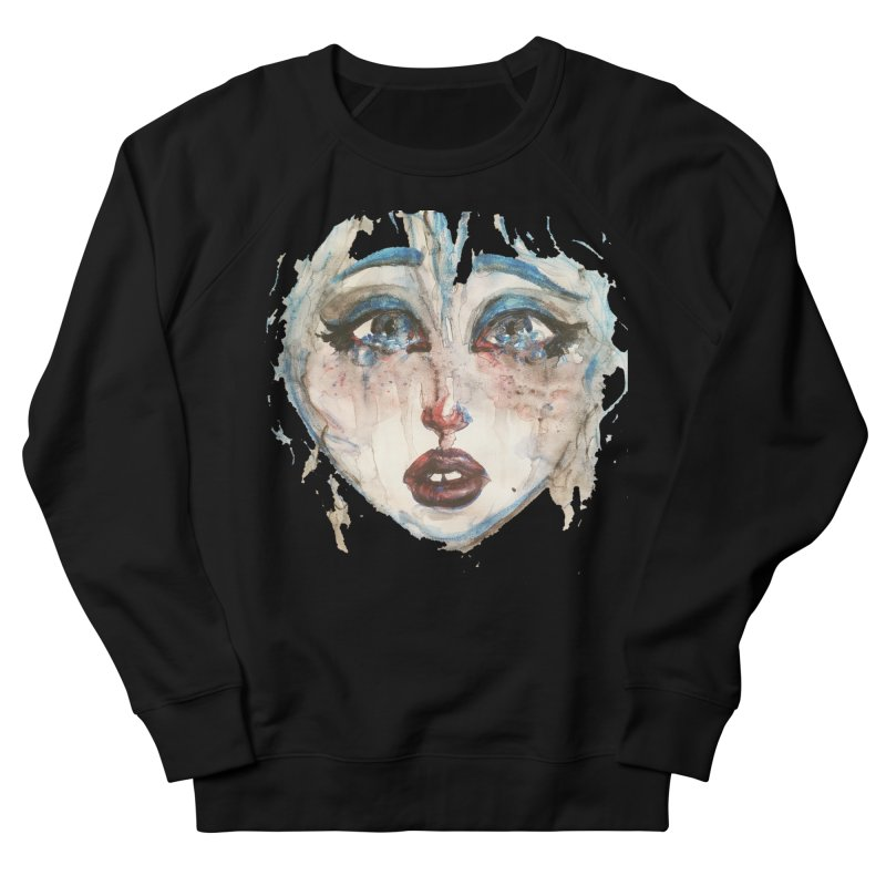Bleu Women's Sweatshirt by dasiavou's Artist Shop