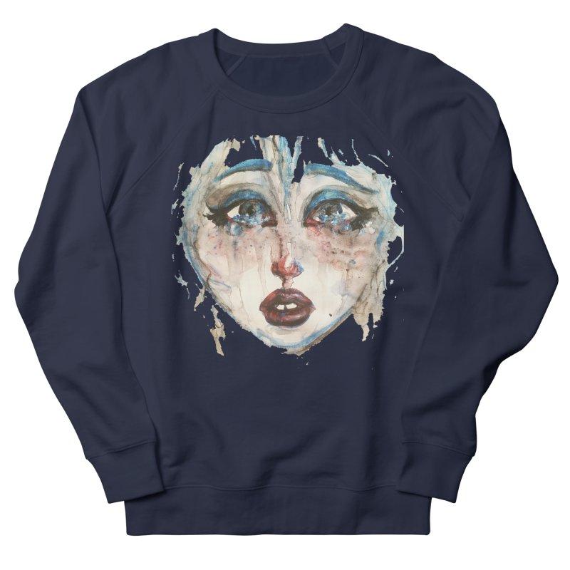 Bleu Men's French Terry Sweatshirt by dasiavou's Artist Shop