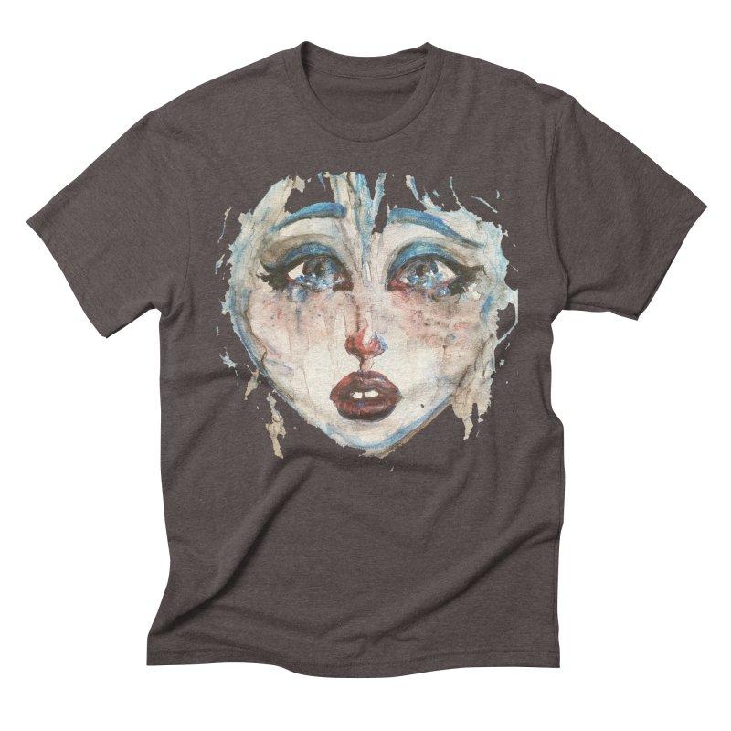 Bleu Men's Triblend T-Shirt by dasiavou's Artist Shop