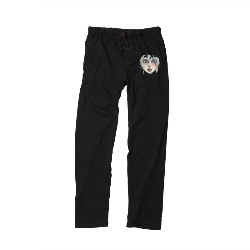 Bleu Men's Lounge Pants by dasiavou's Artist Shop