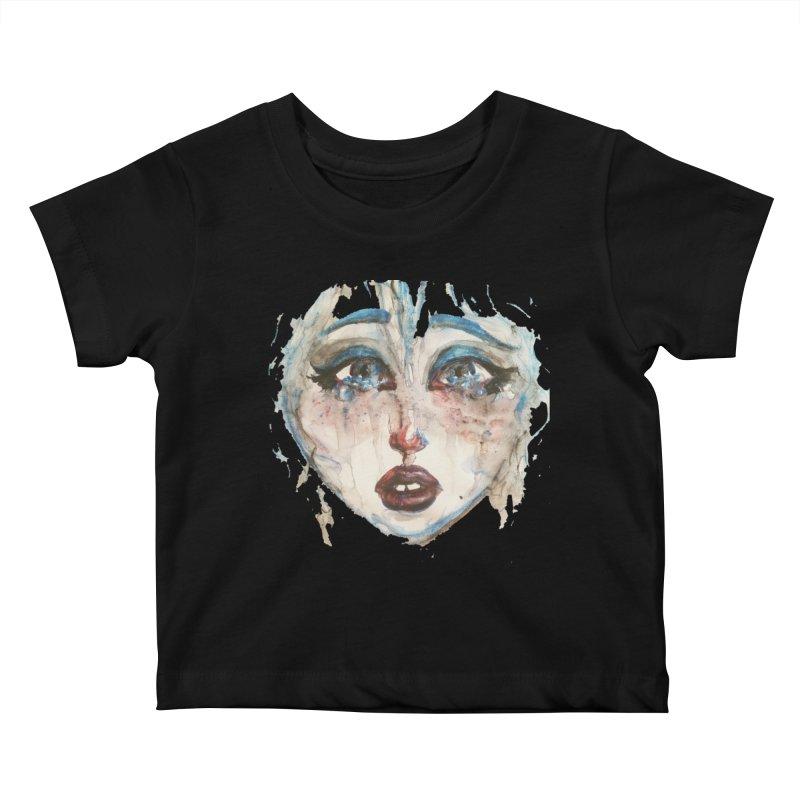 Bleu Kids Baby T-Shirt by dasiavou's Artist Shop