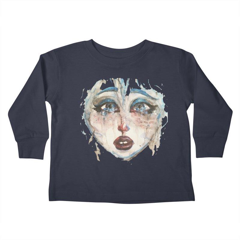 Bleu Kids Toddler Longsleeve T-Shirt by dasiavou's Artist Shop