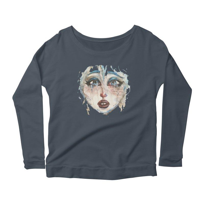 Bleu Women's Longsleeve T-Shirt by dasiavou's Artist Shop