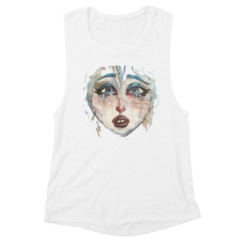 Bleu Women's Muscle Tank by dasiavou's Artist Shop