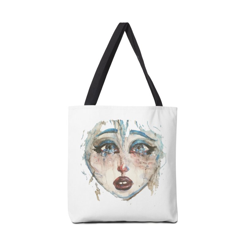 Bleu Accessories Tote Bag Bag by dasiavou's Artist Shop
