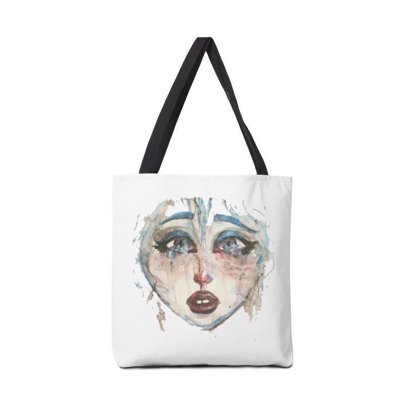 Bleu Accessories Bag by dasiavou's Artist Shop