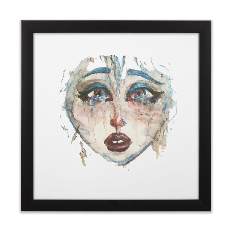 Bleu Home Framed Fine Art Print by dasiavou's Artist Shop
