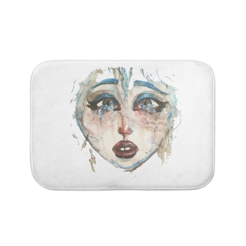 Bleu Home Bath Mat by dasiavou's Artist Shop