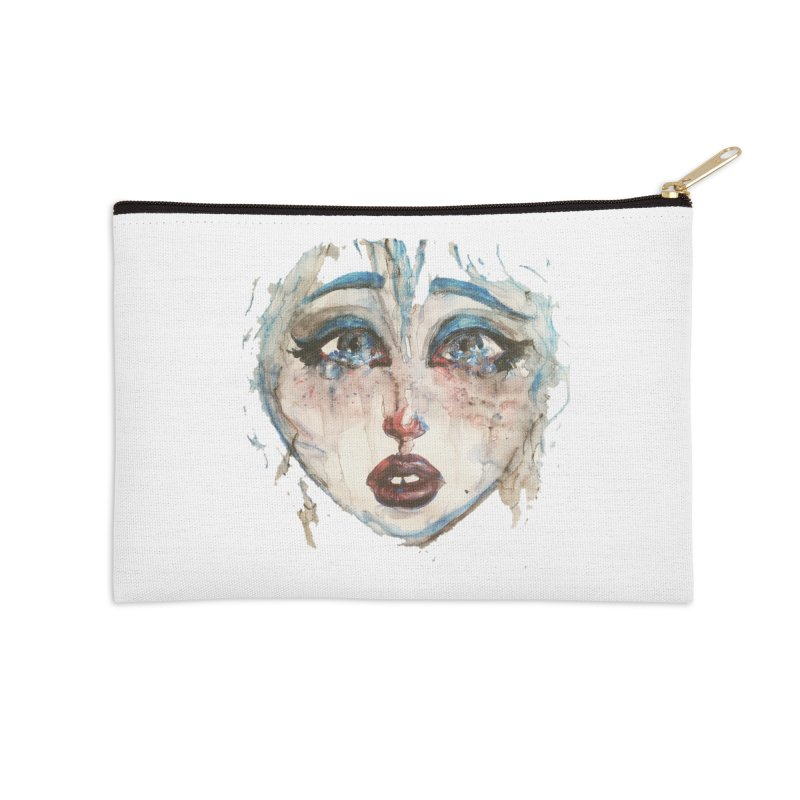 Bleu Accessories Zip Pouch by dasiavou's Artist Shop