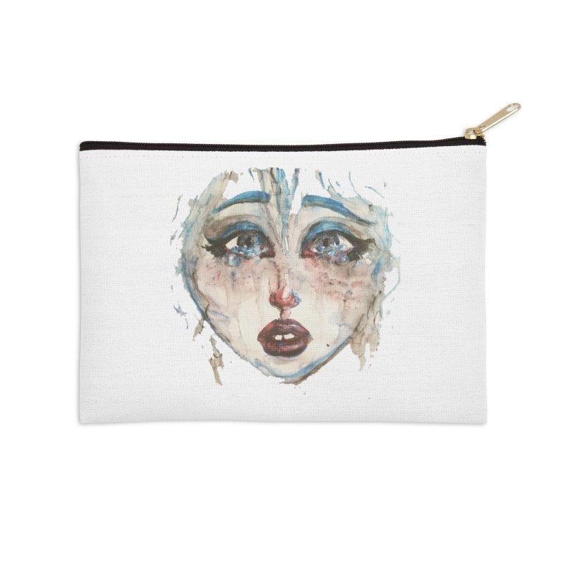 Bleu Accessories Zip Pouch by dasiavou's Artist Shop