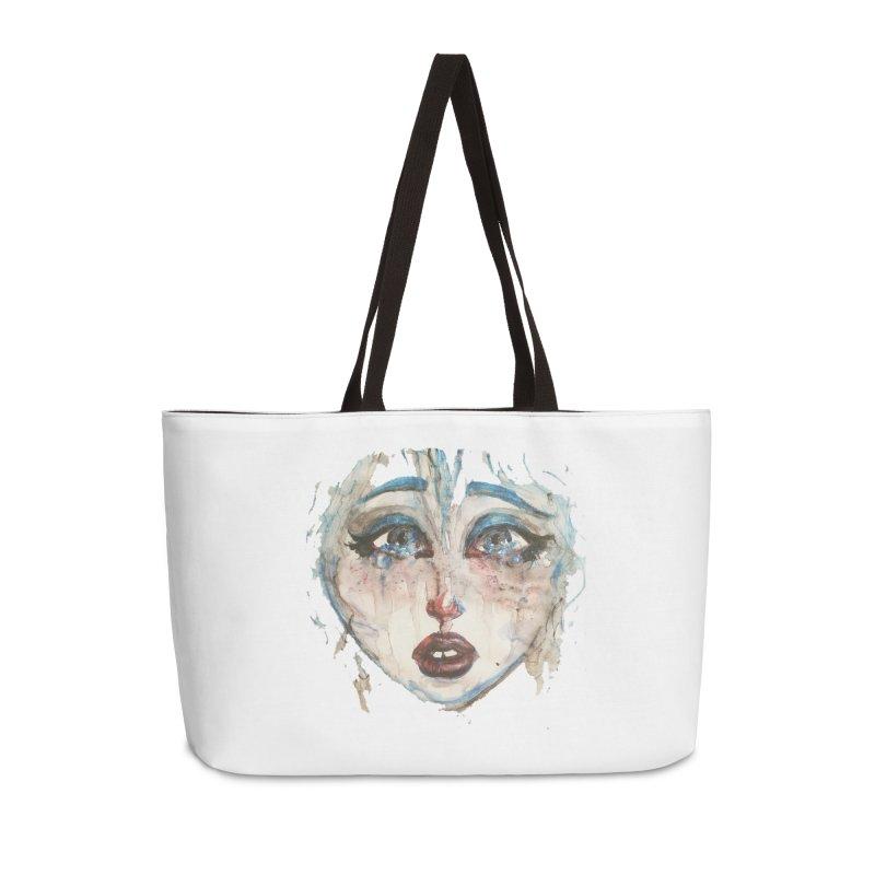 Bleu Accessories Weekender Bag Bag by dasiavou's Artist Shop
