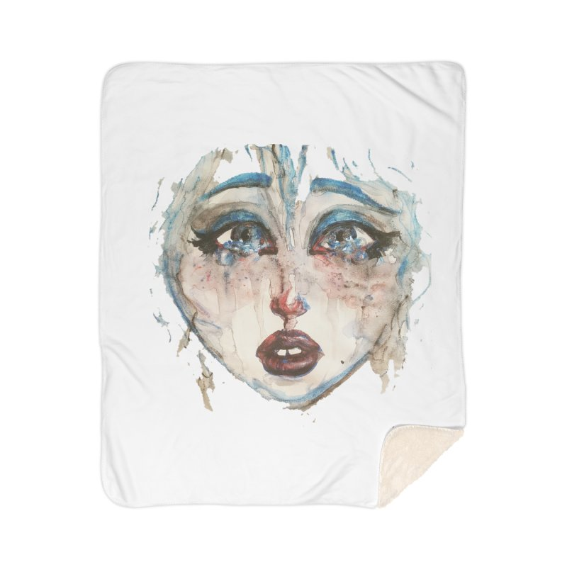 Bleu Home Blanket by dasiavou's Artist Shop